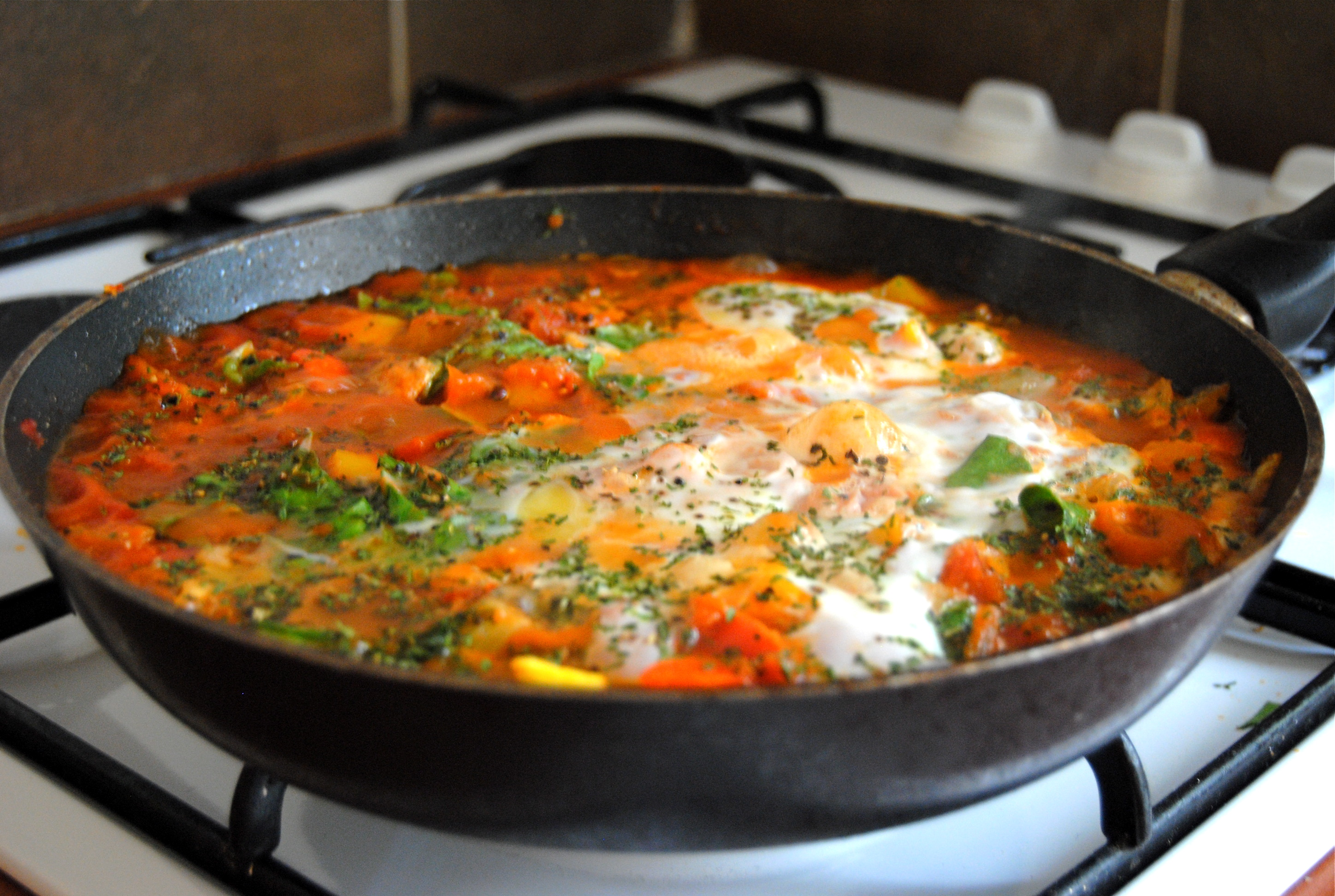 blog is born! (and Silvie's Shakshuka)