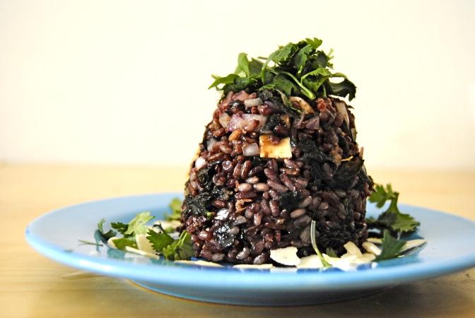 Wild Rice, Tofu & Seaweed Salad   my jerusalem kitchen