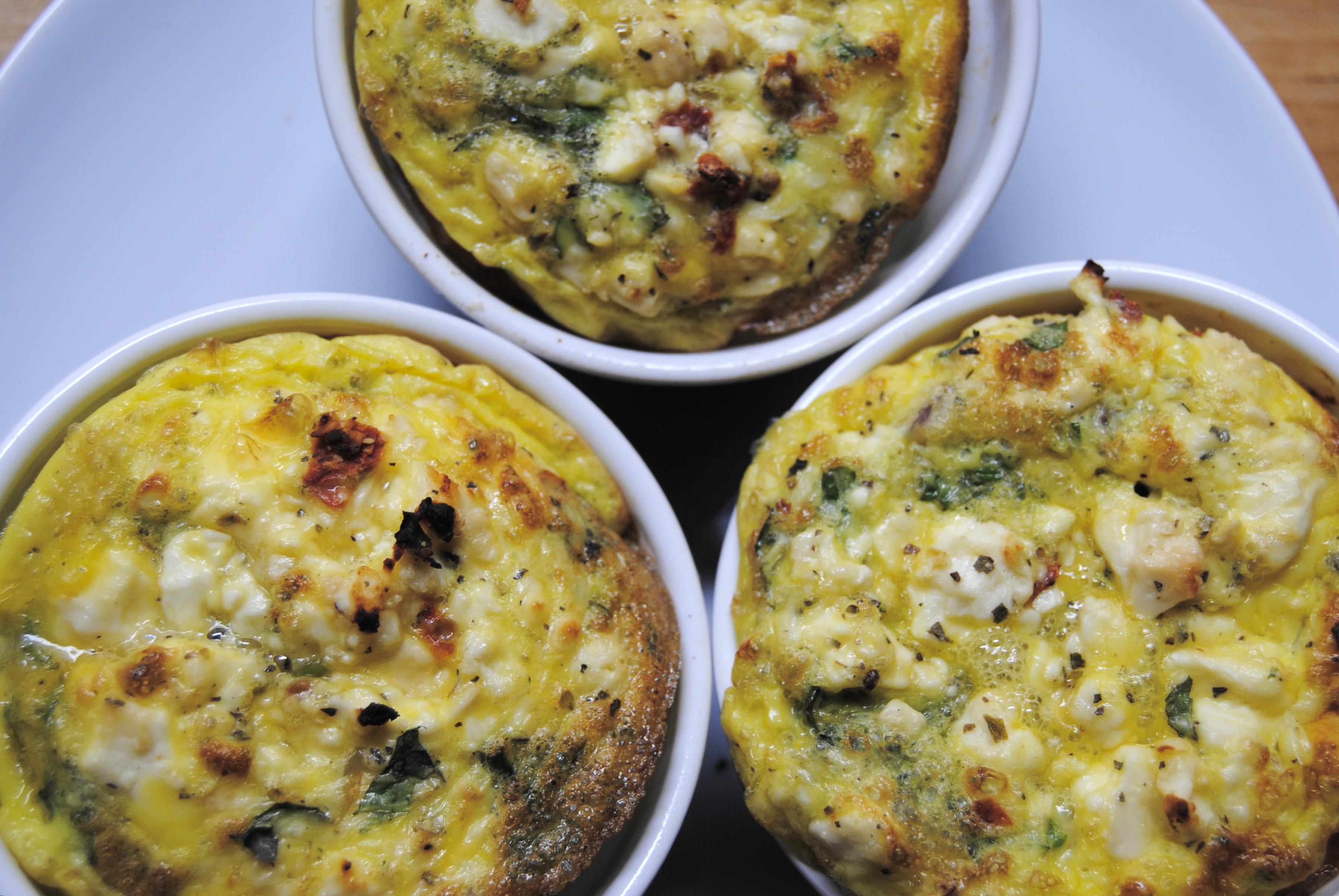 Mediterranean Omelette Souffle