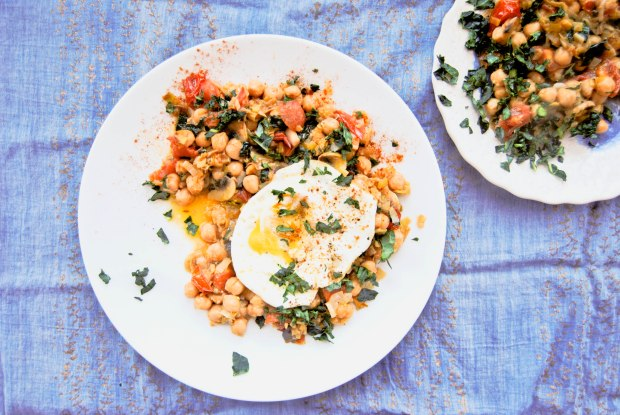 Breakfast Chickpeas