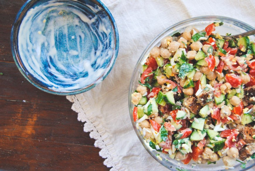 Warm Chickpea Salad-3