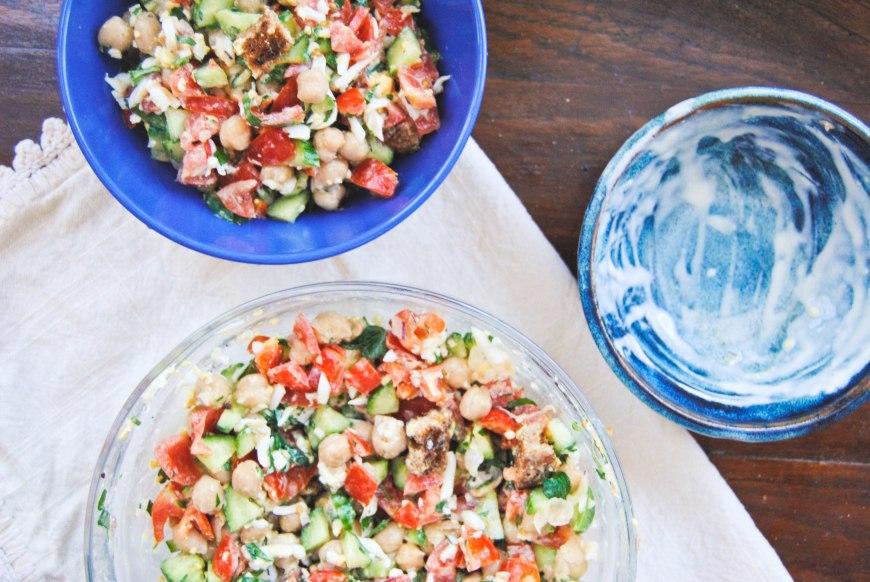 Warm Chickpea Salad-5