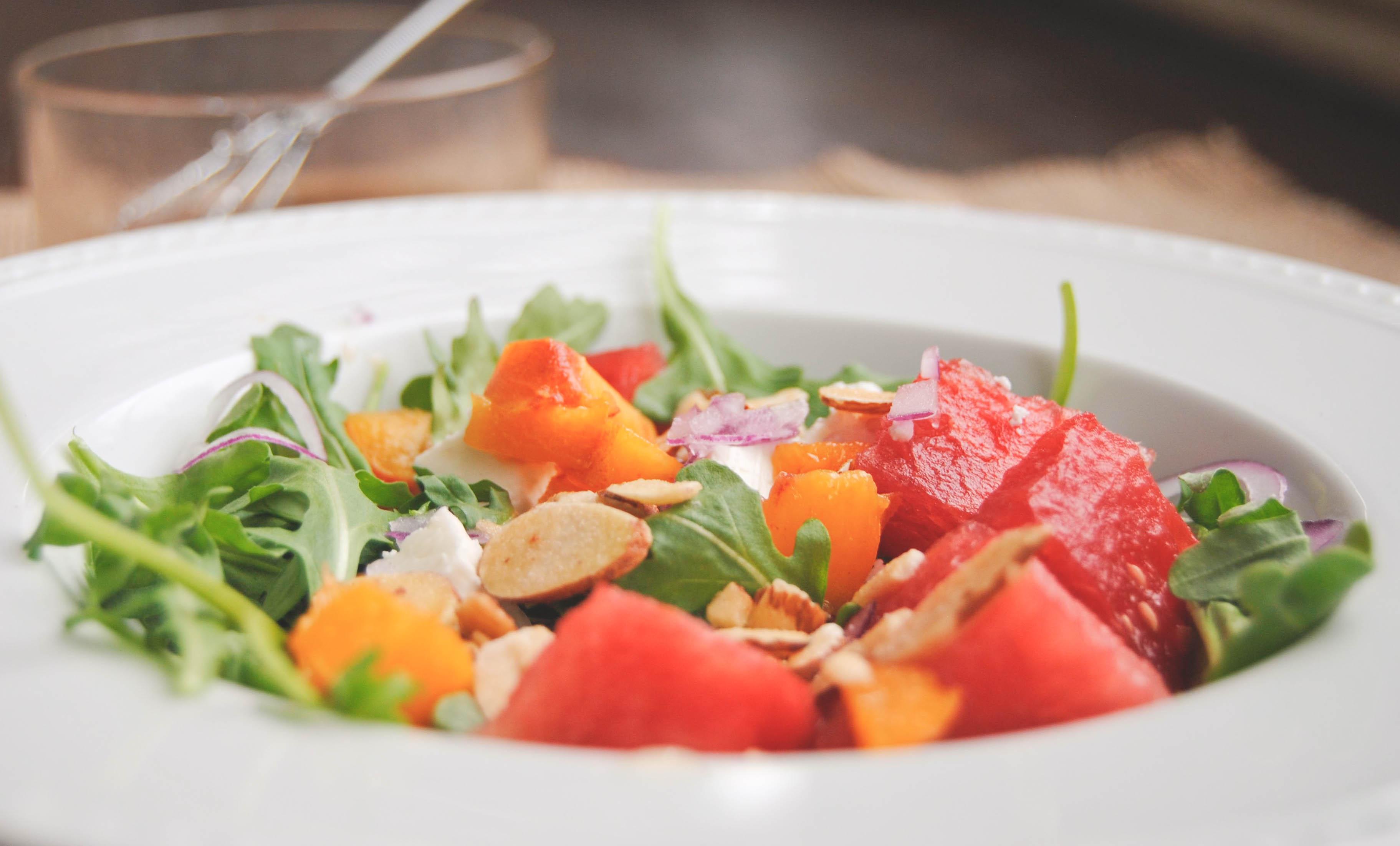 watermelon feta salad with lemon blackberry dressing europe photos my jerusalem kitchen. Black Bedroom Furniture Sets. Home Design Ideas